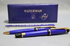 Waterman fountain pen + ballpoint pen