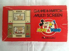 Nintendo Game & Watch Mickey & Donald - boxed