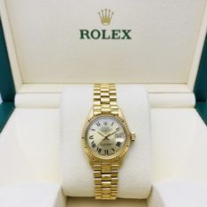 Rolex - Datejust Lady, Oro Amarillo 18kts,  - Damer - 1975