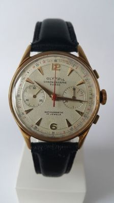 Olympic Chronographe Suisse, Men's Wristwatch