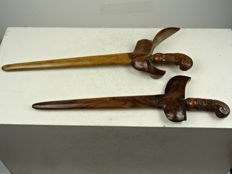 Two keris - Indonesia - circa 1920
