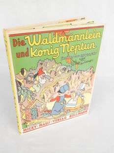 Disney, Walt - Pop-Up - Die Waldmännlein und König Neptun - hc - first edition (1936)