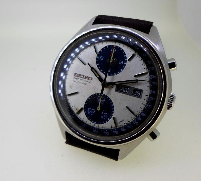 SEIKO PANDA Chronograph - 6138-8020 - Men - 1970-1979