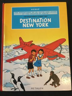 Jo, Zette and Jocko 4 - Desination New York - English edition - hc - 1st edition (1987)