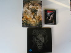 Kreator - limited box  Phantom antichrist.2008 /2011 + Book live in Oberhausen 2012 + Limited edition Enemy of god revisited 2006.