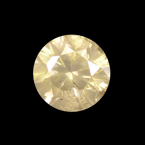 diamond 0.24 Carat Natural Fancy Yellowish Brown I3 Clarity - DG1775 - NO RESERVE PRICE