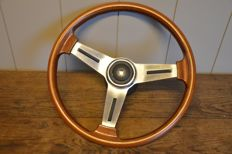 PERSONAL - wooden steering wheel - 38.5 cm diameter - for (modern) classic car