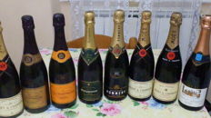Mixed Champagne lot including Vintage Veuve Clicquot, Moet & Chandon & Philipponat - 8 bottles (75cl)