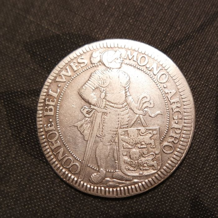 Enkhuizen - Silver ducat 1676 'with stylised marks of Chr. Adolph from atelier Dirk Bosch Enkhuizen'