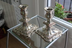 Silver plated service, made in England