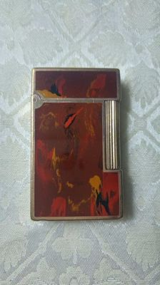 Lighter Dupont Limited edition Picasso, Chinese lacquer, from the 90s.
