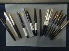 Large lot of Fountain Pens and Various Writing Materials