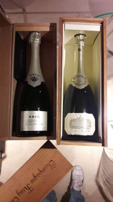 1990 Krug Clos du Mesnil & 1998 Krug Clos du Mesnil - 2 bottles (75cl) each in original case