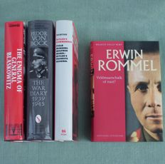 WW2: Lot of 4 books about German Field Marshals & Generals – 1996/2005