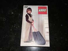 Lego - 787 - Storage bag play mat in original box!