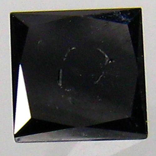 diamond 0.42 Carat Natural Fancy Black Opaque Clarity - DG1508 - NO RESERVE PRICE