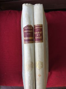 Camille Mauclair - Marrakech & Rabat Salé - 2 volumes - 1933/1934