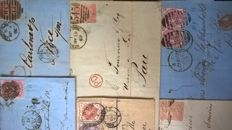 Great Britain -6 covers  sent to French destinations