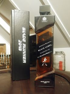 Johnnie Walker black label Bladerunner