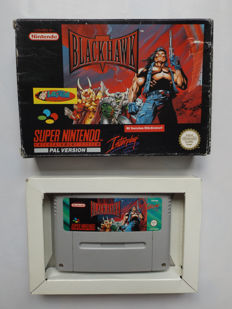 Super Nintendo - Black Hawk boxed - original