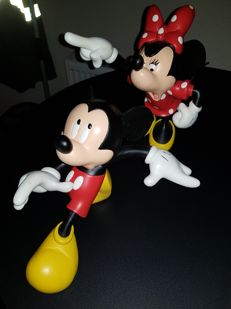 Disney, Walt - Figure - Mickey and Minnie Quarrelling
