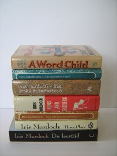 Iris Murdoch; Lot with 7 of her books - 1975 / 2000
