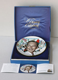 Disney, Walt - Commemoration plate - 85th Anniversary of the Birth of Walter Elias Disney (1986)