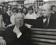 Unknown - Alfred Hitchcock, Vienna, European Cup Final, 1964