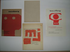 Typografica: Willem Sandberg - Lot with 4 publications - 1963 / 1979