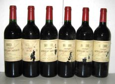 1994 Château Artigues-Arnaud - Pauillac – Lot of 6 bottles