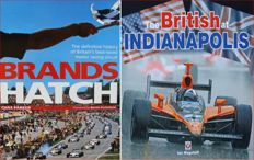 2 Books :  Brands Hatch  +  The British at Indianapolis