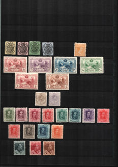 Spain - Selection of various series, frames and letter seals