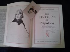 David G.Chandler-The Campaigns Of Napoleon-1973 HB