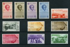 Italy, Kingdom, 1935 – Bellini complete series – Sass. No. 388/393 and A 90/94