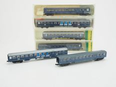 Trix/Fleischmann N - 6 x carriages of the NS