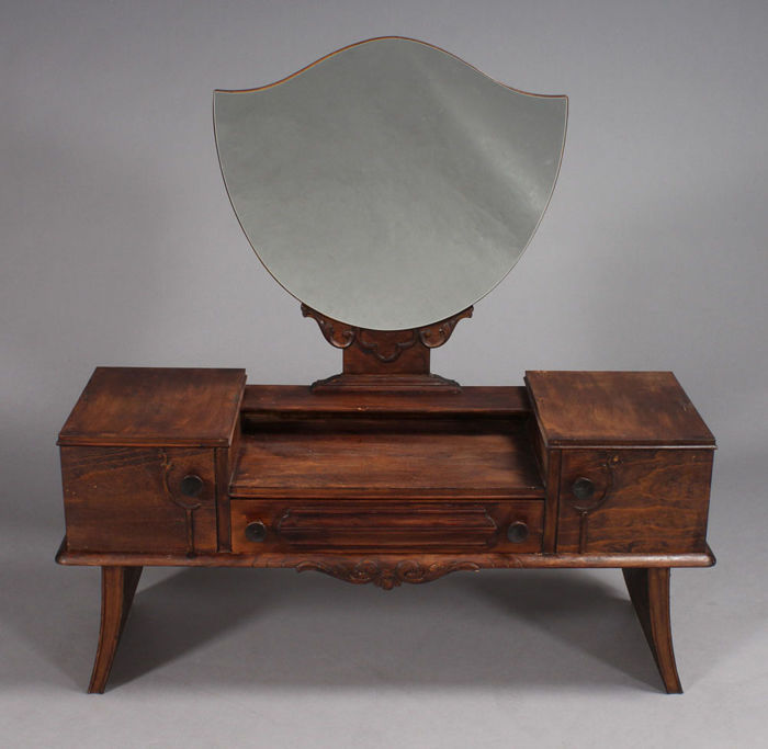 An Art deco-style dressing table, 1930s