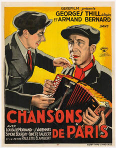 Anonymous - Chansons De Paris - 1934