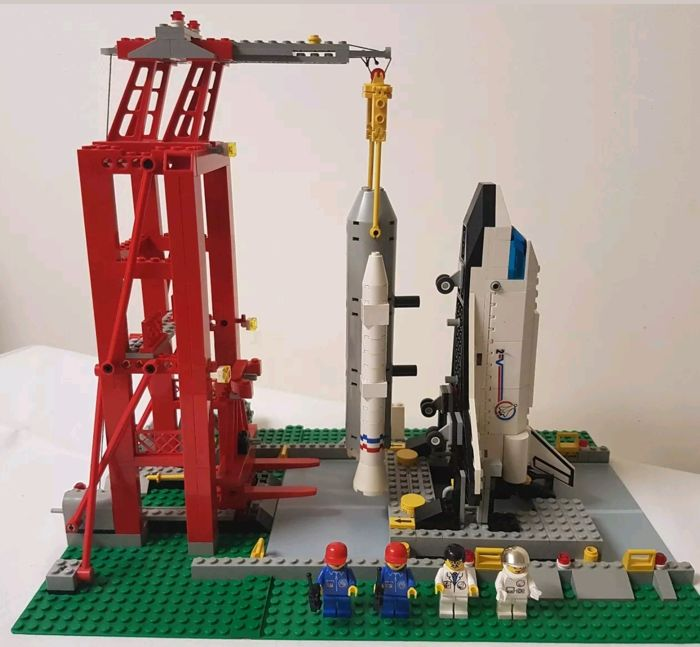 lego space shuttle launch pad 6339 - photo #3