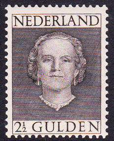 "The Netherlands, 1948-1949 - Wilhelmina ""Hartz"", and Juliana ""En Face"" - NVPH 474-489, 518-533, 535"