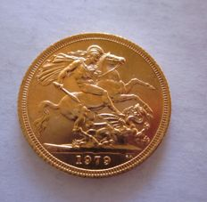 Great Britain - Sovereign 1979 - Elizabeth II - Gold