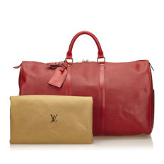 Louis Vuitton - Epi Keepall 50 Travel bag