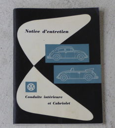 Volkswagen Beetle - Maintenance manual - 1957