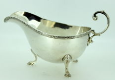 Antique Silver Plate Cream Jar, By Walker & Hall, Sheffield 1921