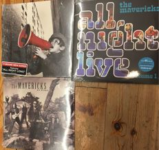 Three LP's of The Mavericks || Great quality || Sealed