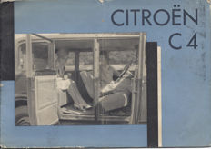 Citroën C4 - Purchase booklet and sale documents - 1930