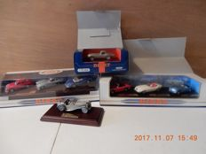 Dinky/ Matchbox 1991/92 - Scale 1/43 - Lot with 8 models - DY 921 Jaguar E type - Y1-3 version 18 1936 Jaguar SS 100 - DY902 - DY903