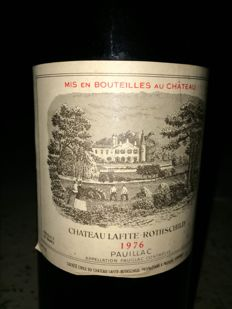 1976 Chateau Lafite Rothschild, Pauillac - 1 bottle