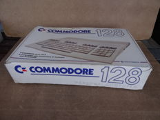 Commodore 128 Personal Computer + Power Supply C128 +  manual + original box