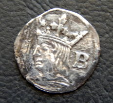 Spain - Ferran II (1479-1516) - 1/4 Croat silver mint of Barcelona - Scarce
