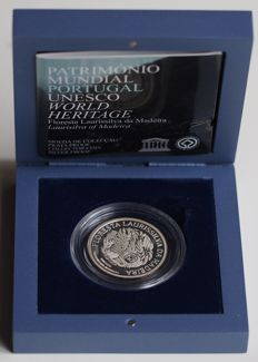 Portugal - 5 euro 2007 'Unesco World Heritage - Laurel forests of Madeira - silver